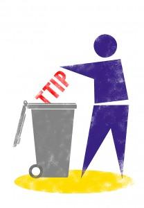 Attac TTIP Logo