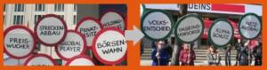 Bahnprivatisierung Kampagne