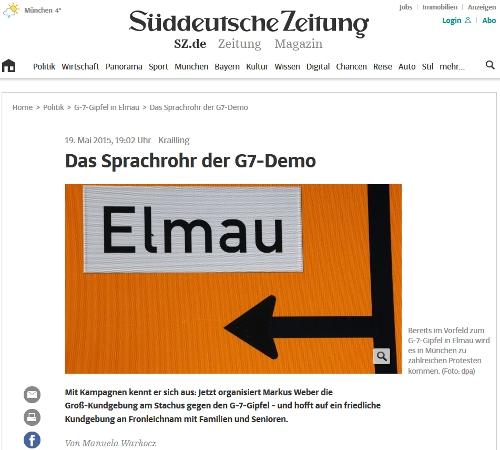 Süddeutsche Markus Weber G7