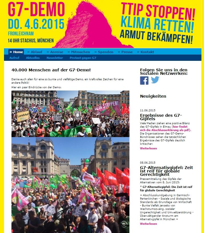 Website G7-Demo