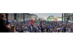 Aktionen und Demonstrationen