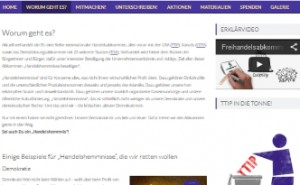 Kampagnen-Text Website