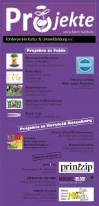 Flyer Förderverein Kultur und Umweltbildung