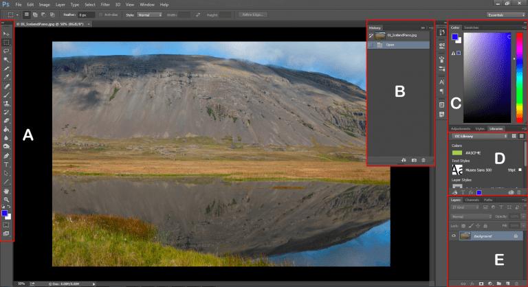 """(Online-)Kurs """"Bildbearbeitung mit Adobe Photoshop"""""""