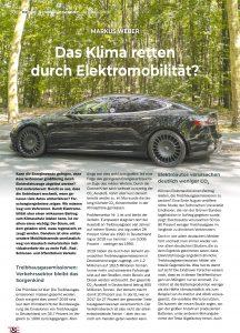 Umwelt, Energie, E-Mobilität